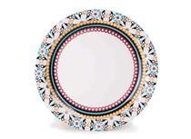Prato Raso Porcelana 26 cm Floreal Luiza Oxford - OXF 223 -