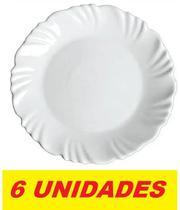 Prato Sobremesa Duralex Opaline Pétala Nadir N5344/6 (6 UN) - Nadir Figueredo