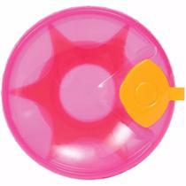 Prato Térmico Com Ventosa Rosa Menina - Buba 6174 - Buba baby