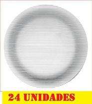 Prato Vidro Raso Duralex Diamante Nadir Cod N5738(cx24) - Nadir Figueredo