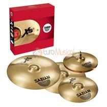 Pratos Sabian Kit XS5005BG -