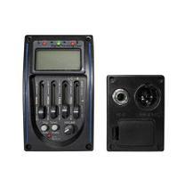 Pré Amplificador Spring P/ Violão C/ Afinador Prg-04 -
