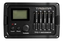 Pré Amplificador Tagima TEQ5 Afinador Cromático Violão/Viola -