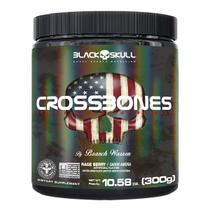 Pré treino cross bones - 300g - BLACK SKULL