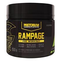 Pré Treino Rampage 150g Exclusivo - Pretorian -
