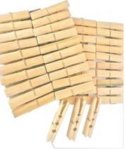 Pregador Prendedor Bambu - 20pçs - 6x1x1 cm - AM2084 - Amigold