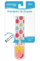 Prendador Para Chupetas Sorvete C0125 Clingo -