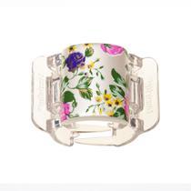 Prendedor de Cabelos Linziclip Bloom Flower Pearlised -