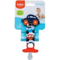 Prendedor de Chupeta Buba Baby Carrinho Azul Marinho - 08556 -