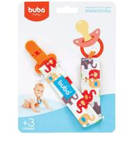 Prendedor De Chupeta Elefantinho Buba - Buba toys