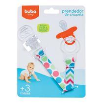 Prendedor de Chupeta Silicone Colors Buba - Buba toys