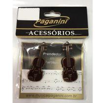 Prendedor de Partitura Paganini Clipets Violino PPT-084 -