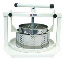 Prensa Para Queijos 2 Formas Redondas 500g E 1kg Inox Zatti -