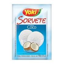 Preparo para Sorvete Coco 150g - Yoki -
