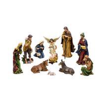 Presepio 11 Pecas 12cm  Renovacao Espressione Christmas -