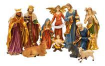 Presépio 11 Peças 59cm - Enfeite Resina Decoração Natal - Taimes
