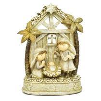 Presépio decorativo mini sagrada familia - Armazem