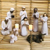 Presépios de Resina Cenário Menino Jesus 21cm Altura - Ef