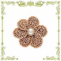 Presilha de Cabelo Infantil Bico de Pato Flor Luxo Cores Drilú - Sui Acessori Piccola
