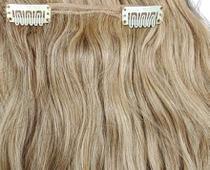 Presilha Tic Tac branca apliques, perucas e alongamentos 10un - Lynx Produções Artistica