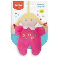 Primeira Amiguinha Com Chocalho Rosa Pink - Buba Ref 5988 -