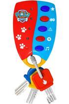 Primeiro Chaveiro Musical Patrulha Canina Sons e Luzes Dican - 3951 - Nickelodeon