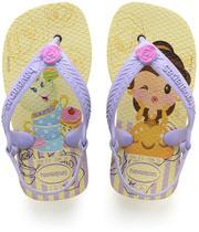 Princesas BABY 23/4 Amarelo - Havaianas