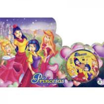 Princesas - kit c/08 unid. - col. book bag - Todolivro