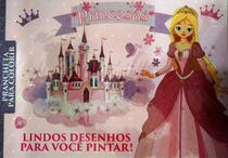 Princesas: Prancheta para colorir - Lindos desenhos para você pintar! - Online -