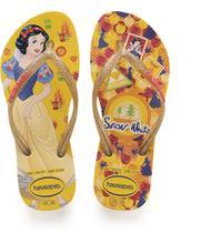 Princesas SLIM 33/4 Amarelo - Havaianas