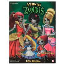 Princesas Zumbis Álbum De Figurinhas Completo Para Colar - Alto astral