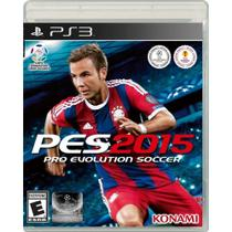 Pro Evolution Soccer (PES) 2015 - Ps3 - Sony