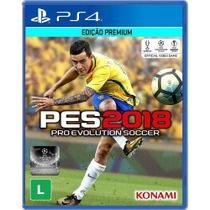 Pro Evolution Soccer PES 2018 - PS4 - Konami
