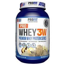 Pro whey 3w 900 g - profit (baunilha) -