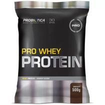 Pro Whey Protein Refil - 500gr - Chocolate - Probiótica -
