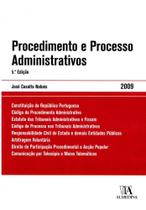 Procedimento E Processo Administrativos - Col.Textos Da Lei - 5ª Ed. 2009 - Almedina -