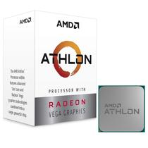 Processador AMD Athlon 200GE 3.2GHz AM4 5MB com Placa de Vídeo Radeon Vega YD200GC6FBBOX
