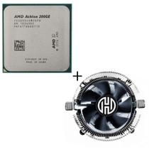 Processador AMD Athlon 200GE 5MB 3.2GHz AM4 Oem + Cooler Compatível -
