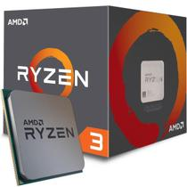 Processador AMD Ryzen 3 1200 com Wraith Cooler Quad Core 10MB 3.1GHz (3.4GHz Turbo) AM4 -