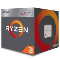 Processador AMD Ryzen 3 2200G, Cache 6MB, 3.5GHz (3.7GHz Max Turbo), AM4 - YD2200C5FBBOX - Intel -