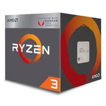 Processador AMD Ryzen 3 2200G, Socket AM4, 3.5GHz (3.7 GHz) Cache 6MB - YD2200C5FBBOX -
