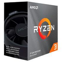 Processador AMD Ryzen 3 3100 (AM4 - 4 núcleos - 3,6GHz) - 100-100000284BOX -