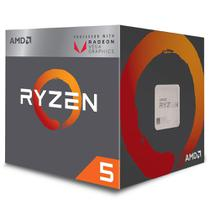 Processador AMD Ryzen 5 2400 Box AM4 3.6GHz Max Turbo 3.9GHz 19MB com Cooler Wraith Stealth -