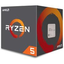 Processador AMD Ryzen 5 2600 19MB 3.4 - 3.9GHz AM4 YD2600BBAFBOX -