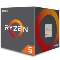 Processador AMD Ryzen 5 2600 Box AM4 3.4GHz Max Turbo 3.9GHz 19MB com Cooler Wraith Stealth -