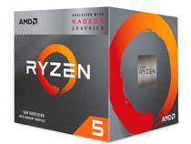Processador AMD Ryzen 5 3400G 3.7GHz (4.2GHz Max Turbo) Cache 6MB AM4 YD3400C5FHBOX -
