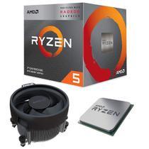 Processador AMD Ryzen 5 3400G Cache 4MB 3.7GHz (4.2GHz Max Turbo) AM4 - YD3400C5FHBOX -