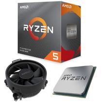 Processador AMD Ryzen 5 3600 6 Core 35MB 3.6GHz Max4.2GHz AM4 Cooler Wraith Stealth 100-100000031BOX -