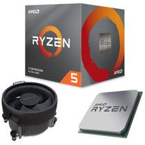 Processador AMD Ryzen 5 3600X 6 Core 35MB 3.8GHz Max 4.4GHz AM4 Cooler Wraith Spire 100-100000022BOX