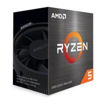 Processador AMD Ryzen 5 5600X 3.7GHz (4.6GHz Max Turbo) 32MB Cache Cooler Wraith Stealth AM4 -